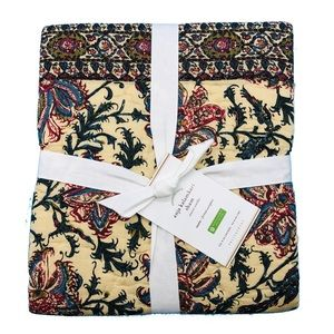 NEW Pottery barn Anja Kalamkari 2 Euro Shams